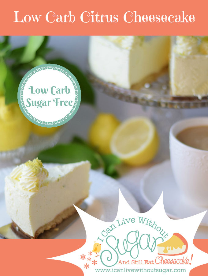 ;pw carb citrus cheesecake with coffee