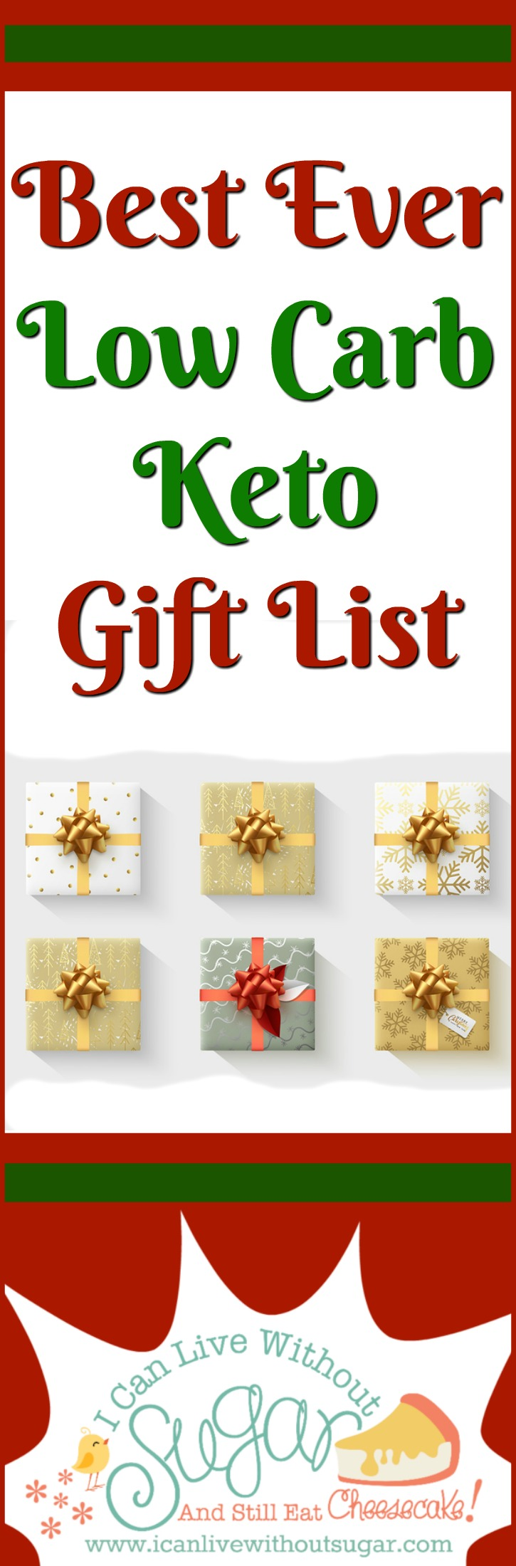 This best ever low carb keto gift list makes it easy to find gifts for people following a low carb keto lifestyle. Spoil yourself and fellow low carbers with a well chosen low carb gift!