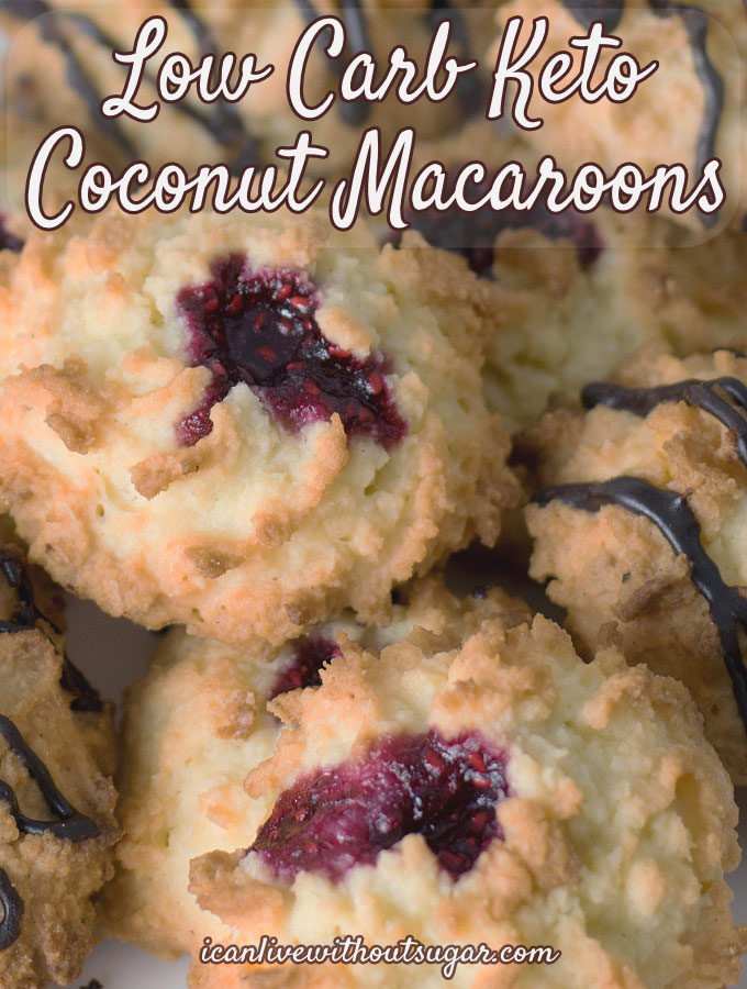 easy low carb keto coconut macaroons feature2