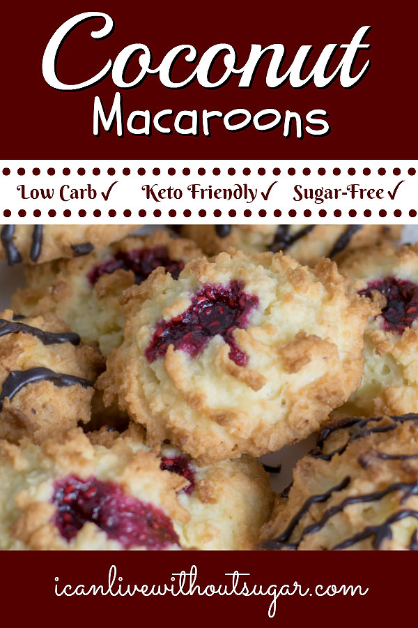 Low Carb Keto Coconut Macaroons. Oh, my. You are going to love this wicked good, healthy keto treat.